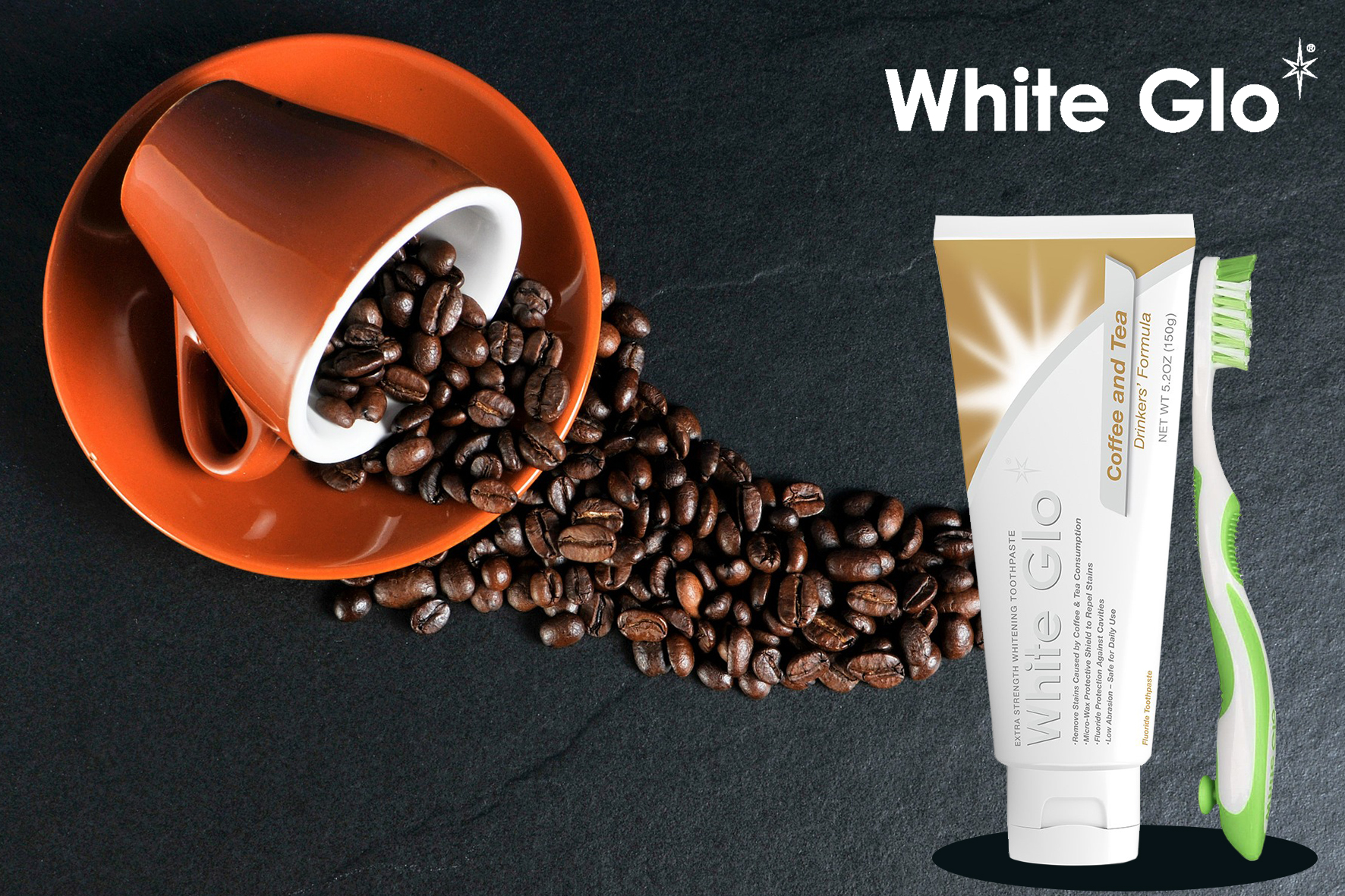 White GLO Coffee and Tea